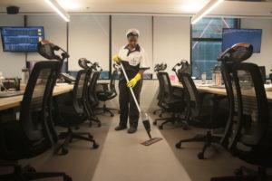 Terceirização de serviço de limpeza